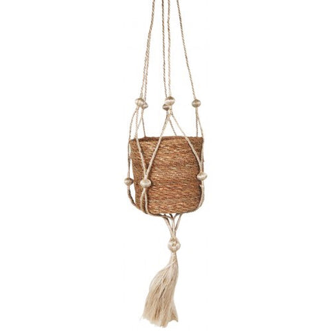 Urban Products / Jute Bobble Hanging Planter