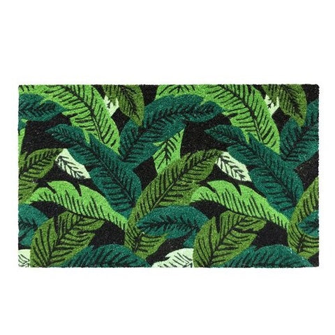 General Eclectic / Doormat - Banana Leaf