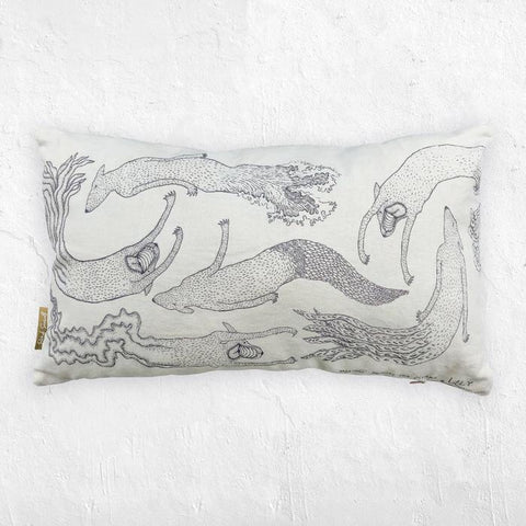 Streetart Society / Handmade Cushion - Merdogs