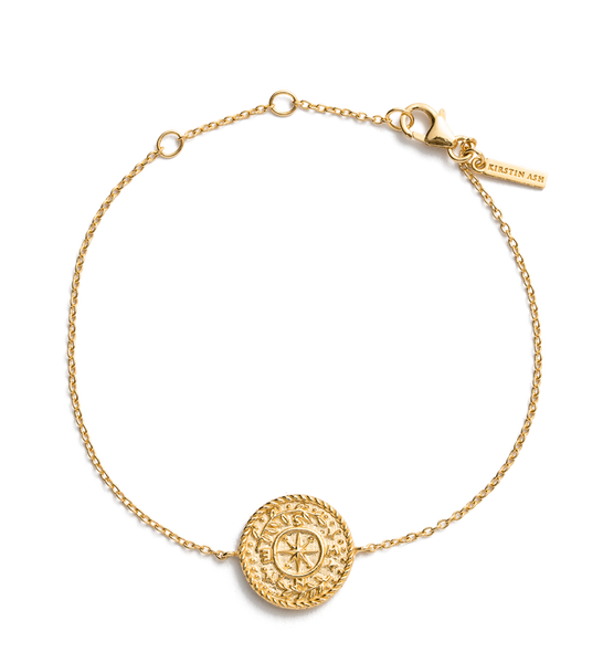 Kirstin Ash / Treasure Coin Bracelet - Gold