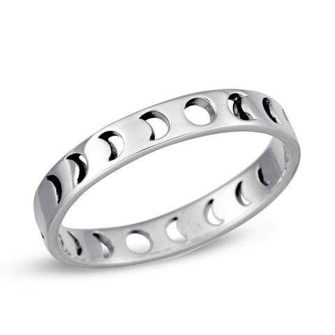 Midsummer Star / All The Phases Ring - Silver