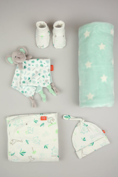 Weegoamigo / Jersey & Fleece Set - Echo The Elephant
