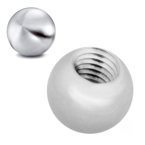 14g Surgical Steel Loose Balls for Belly Rings - External Threads - Replacement Ball. Navel Rings Australia.