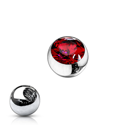14g Gem Replacement Balls for Belly Rings - Replacement Ball. Navel Rings Australia.