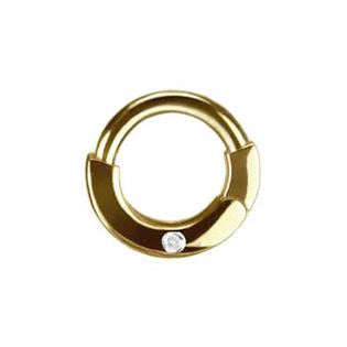 TummyToys® 14K Diamond Nipple Ring - Nipple Ring. Navel Rings Australia.