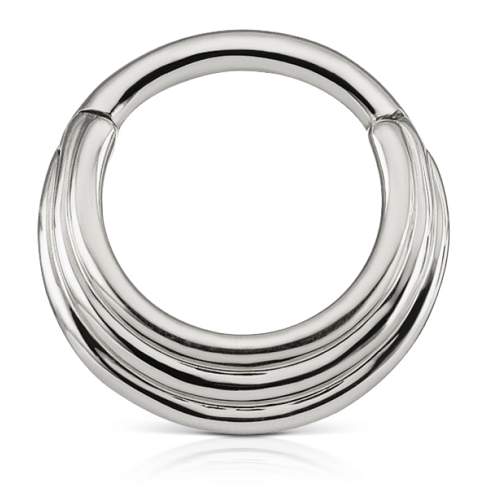 Hiranya Clicker by Maria Tash in White Gold - Earring. Navel Rings Australia.
