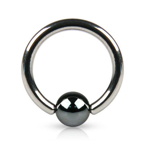 Checker Ball Captive Belly Ring