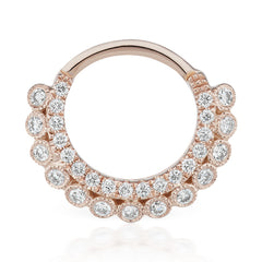 Apsara Diamond Clicker by Maria Tash in Rose Gold