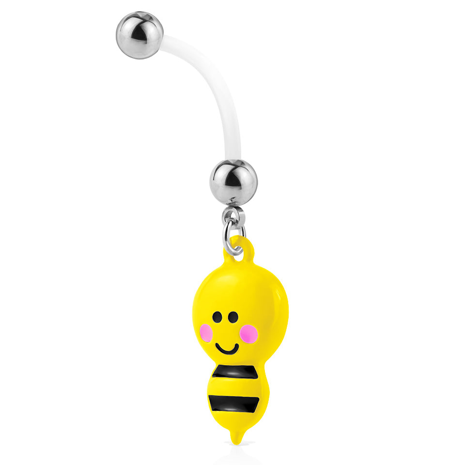 Maternity Belly Ring. Quality Belly Rings. Bumble Bee Maternity Belly Rings