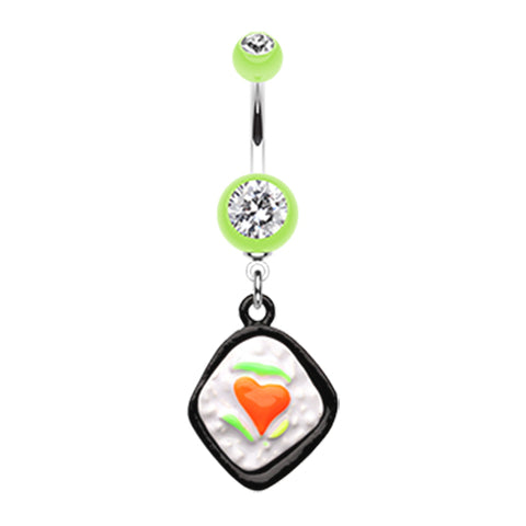 Dangling Belly Ring. Quality Belly Rings. Bento Buzzin' Belly Ring