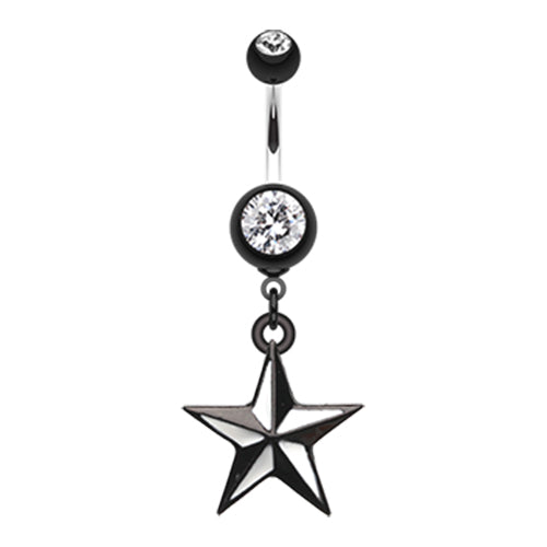 Dangling Belly Ring. Shop Belly Rings. Quinn's Rockstar Tattoo Belly Dangle