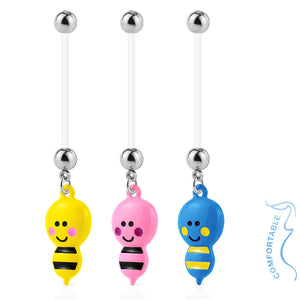 Bumble Bee Maternity Belly Rings - Maternity Belly Ring. Navel Rings Australia.