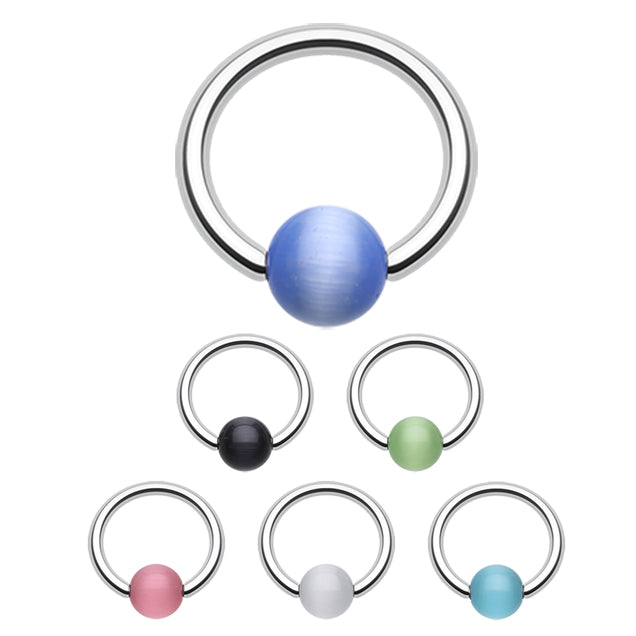 Cat Eye Captive Belly Rings - Captive Belly Ring. Navel Rings Australia.