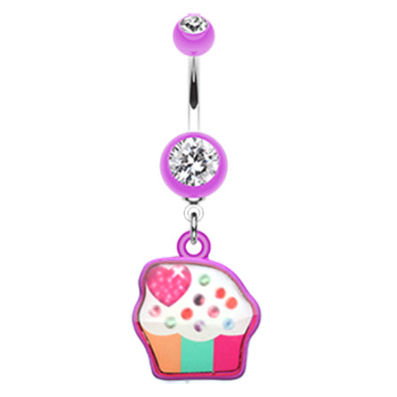 Amethyst Cupcake Candy Belly Bar