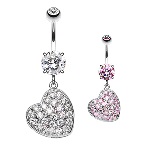 Dangling Belly Ring. Belly Rings Australia. Seduced My Heart Belly Piercing Ring