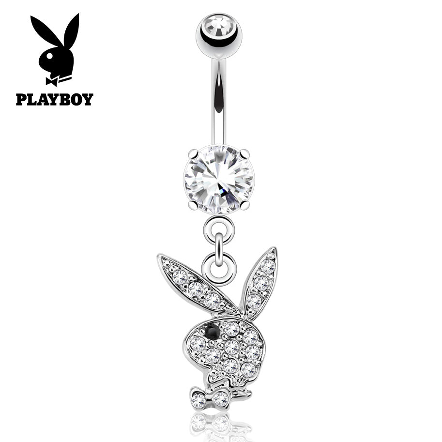 Dangling Belly Ring. Quality Belly Bars. Official ©Playboy Classics Dangly Belly Rings