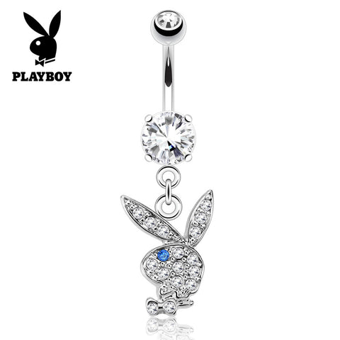 Indigo Blue Official ©Playboy Classics Dangly Belly Rings