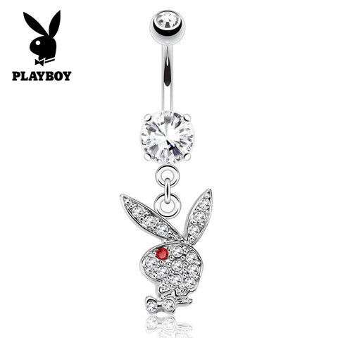 Red Official ©Playboy Classics Dangly Belly Rings