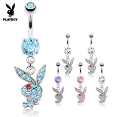 Official ©Playboy Classics Dangly Belly Rings
