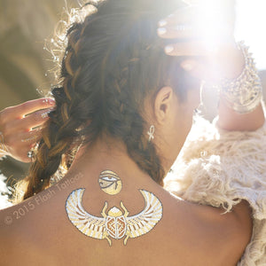Desert Dweller By Child Of Wild and Flash™ Tattoos - Temporary Tattoo. Navel Rings Australia.