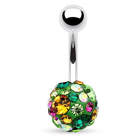 Emerald Green Motley™ Fusion Belly Bars