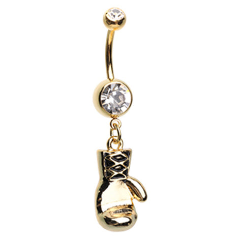 Romancing with Baroque Belly Button Ring
