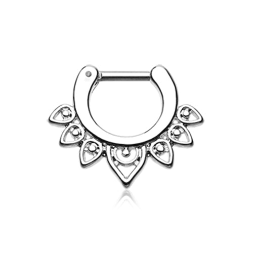 Acerose Filigree Septum Clicker - Septum. Navel Rings Australia.