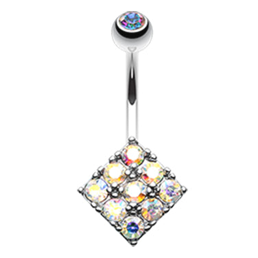 Misty Bambina Belly Bar - Fixed (non-dangle) Belly Bar. Navel Rings Australia.
