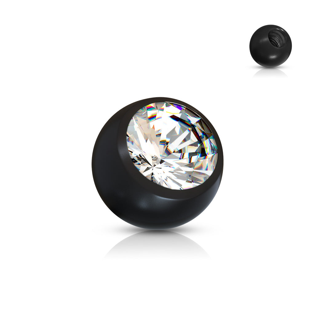 Replacement Ball. Buy Belly Rings. 14g Gem Acrylic Replacement Balls for Belly Rings