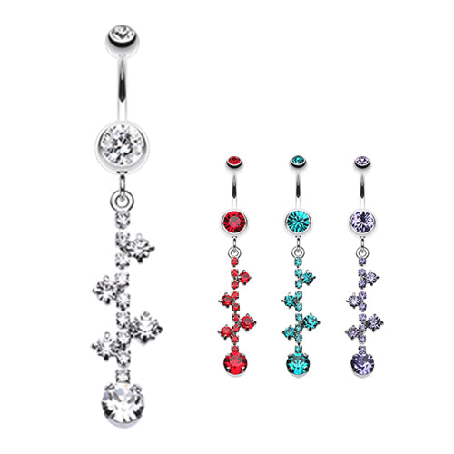 Macadamize Belly Ring Journey - Dangling Belly Ring. Navel Rings Australia.