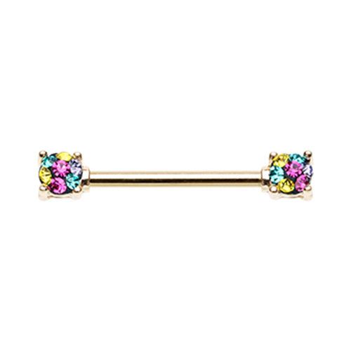 Gold Motley Pixies Nipple Rings - Nipple Ring. Navel Rings Australia.
