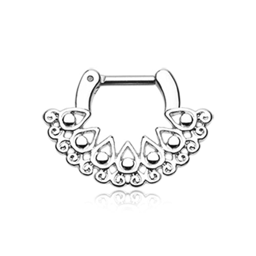 Arioso Tribal Septum Clicker - Septum. Navel Rings Australia.