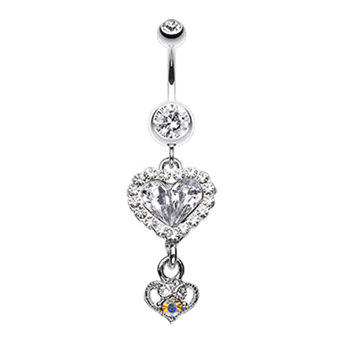 Dangling Belly Ring. Belly Rings Australia. My Lovers Story Belly Dangle