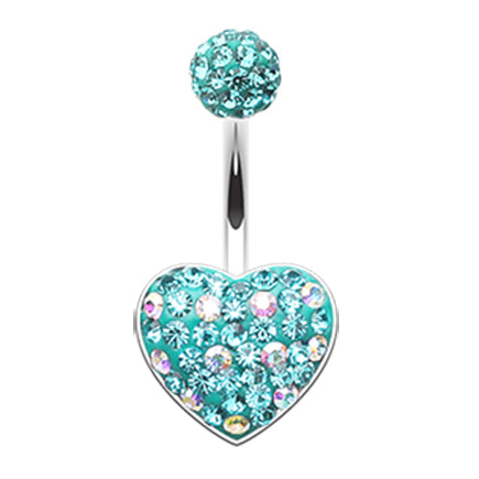 Aquamarine Motleys™ Polka Dot Passion Belly Bar