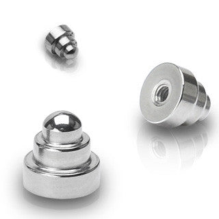 Dumbbell Surgical Steel Loose Balls - Replacement Ball. Navel Rings Australia.