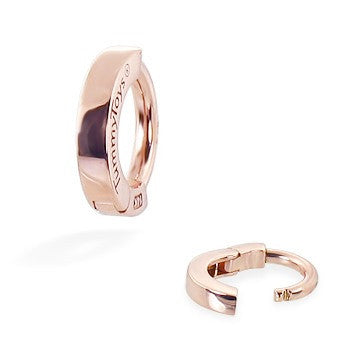 TummyToys® Classic Rose Gold Navel Ring - TummyToys® Patented Clasp. Navel Rings Australia.