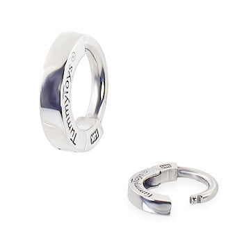 TummyToys® Classic White Gold Sleeper - TummyToys® Patented Clasp. Navel Rings Australia.