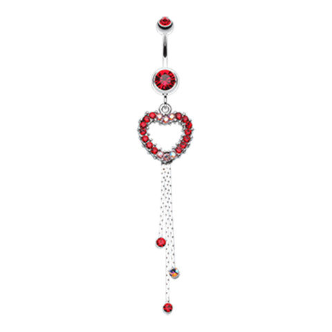 Runaway Lover Belly Dangle - Dangling Belly Ring. Navel Rings Australia.
