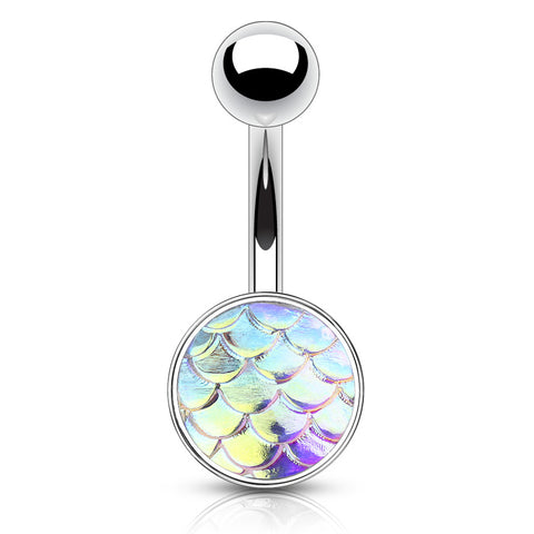 Aurora Borealis Mermaid Sisters Belly Bar