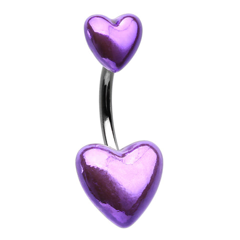 Amethyst Metallic Passion Belly Bar
