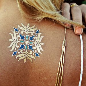 Isabella by Flash™ Tattoos - Temporary Tattoo. Navel Rings Australia.