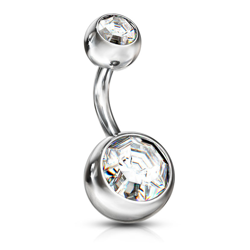 Belly Button Ring Navel Ring Short 316L Surgical Steel Belly Barbell