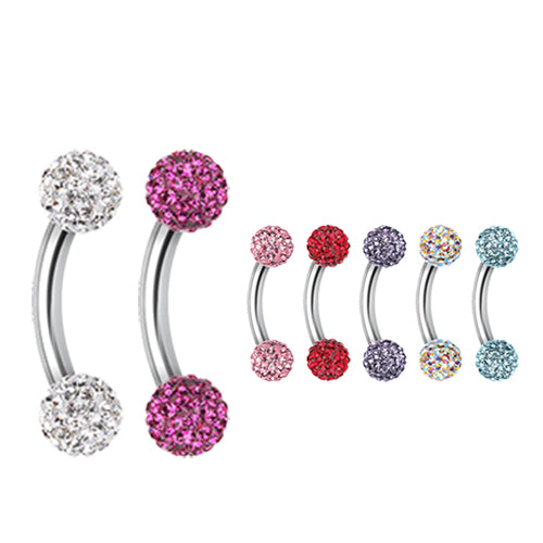 16g Petite Motley™ Belly Rings - Reverse Top Down Belly Ring. Navel Rings Australia.