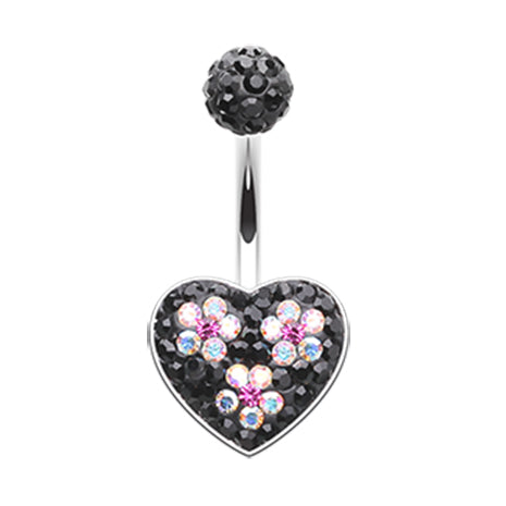 Pink Motleys™ Midnight Love Parade Belly Ring