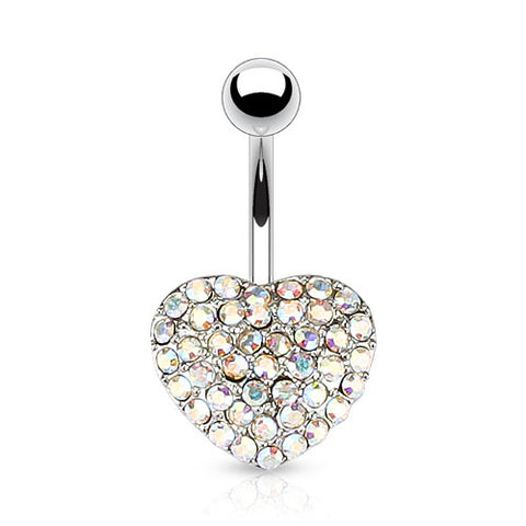 Aurora Borealis Oh So Sweet Motley™ Heart Belly Bars
