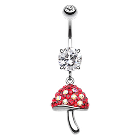 Mushy Motley™ Belly Dangle - Dangling Belly Ring. Navel Rings Australia.
