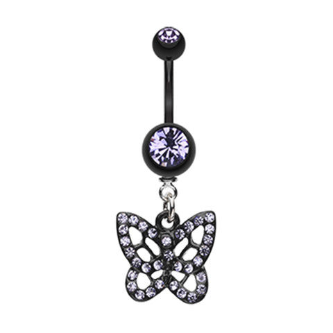 Tanzanite The Sparkilicious Butterfly Belly Ring