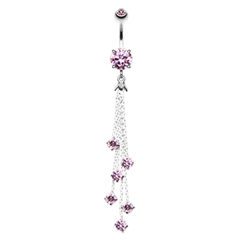 Night Deity Belly Dangle - Dangling Belly Ring. Navel Rings Australia.