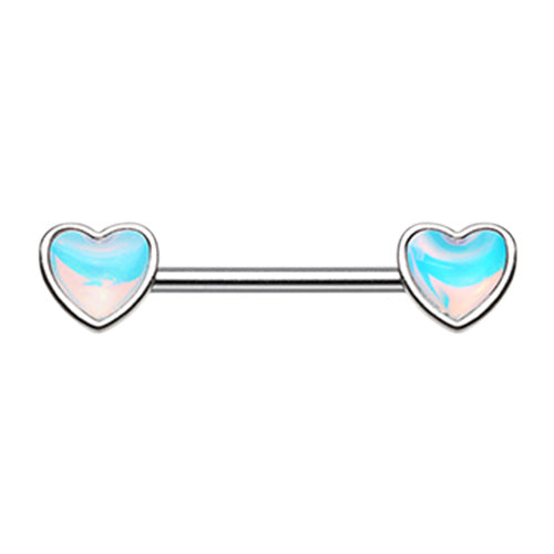 Revo Love Heart Nipple Ring - Nipple Ring. Navel Rings Australia.