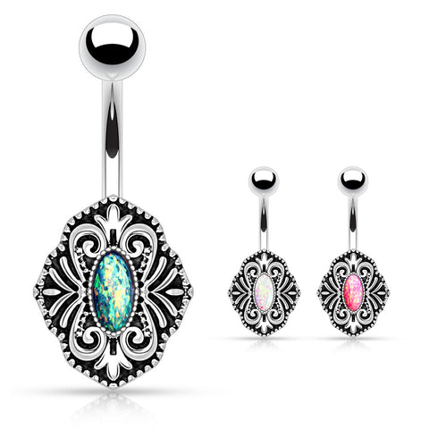Mandala's Ritz and Glitz Belly Ring